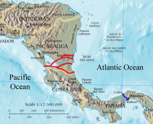 Nicaragua_canal_proposals_2013